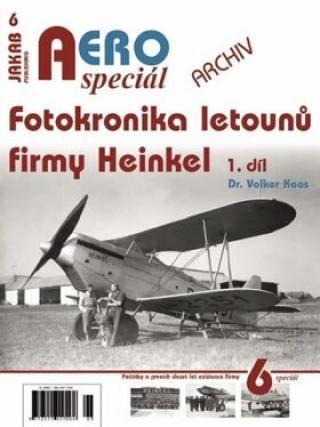 AEROspeciál 6 - Fotokronika letounů firmy Heinkel 1. díl - Koos Volker