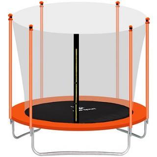 Aga Sport Fit Trampolína 180 cm Orange   vnitřní ochranná síť