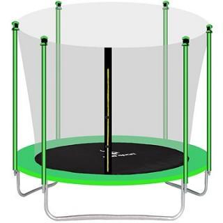 Aga Sport Fit Trampolína 250 cm Light Green   vnitřní ochranná síť