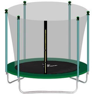 Aga Sport Fit Trampolína 305 cm Dark Green   vnitřní ochranná síť