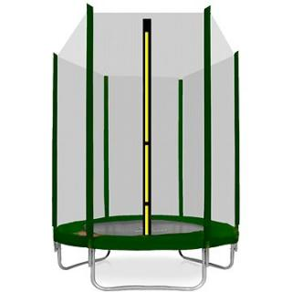 Aga Sport Top Trampolína 150 cm Dark Green   ochranná síť