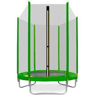 Aga Sport Top Trampolína 150 cm Light Green   ochranná síť