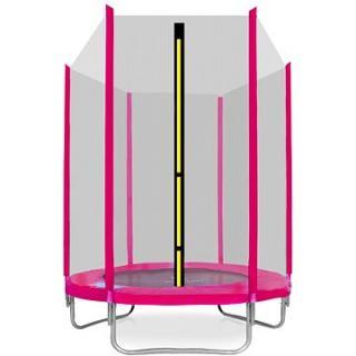 Aga Sport Top Trampolína 150 cm Pink   ochranná síť