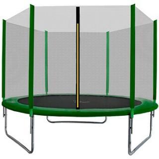 Aga SPORT TOP Trampolína 305 cm Dark Green   ochranná síť