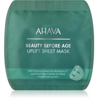 Ahava Beauty Before Age vyhlazující plátýnková maska s liftingovým efektem dámské