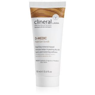 Ahava Clineral D-MEDIC jemný gelový peeling na nohy 100 ml dámské 100 ml