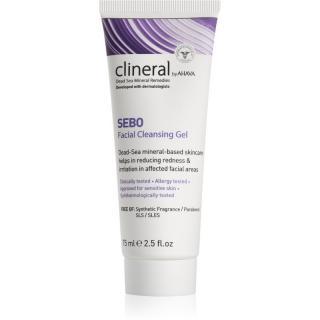 Ahava Clineral SEBO jemný čisticí gel pro citlivou a intolerantní pleť 75 ml dámské 75 ml