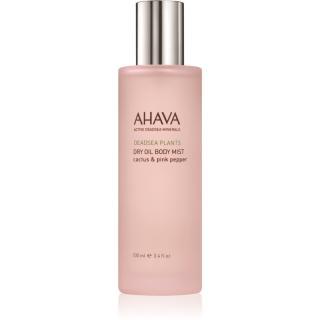 Ahava Dead Sea Plants Cactus & Pink Pepper suchý tělový olej ve spreji 100 ml dámské 100 ml