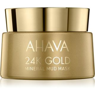 Ahava Mineral Mud 24K Gold minerální bahenní maska s 24karátovým zlatem 50 ml dámské 50 ml