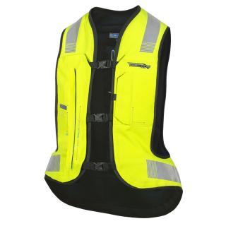 Airbagová Vesta Helite E-Turtle Hivis Rozšířená  Xl  Hivis Žlutá XL