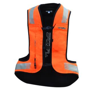 Airbagová Vesta Helite Turtle 2 Hivis Rozšířená  Oranžová  L L