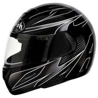 AIROH SPEED FIRE LINEAR SPLI17 - integrální černá helma