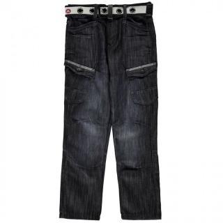 Airwalk Belted Cargo Jeans Junior Boys pánské Other S