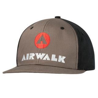 Airwalk Flat Peak Cap pánské Grey   Other One size