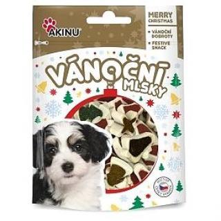 Akinu MLSKA Vánoční bonbonky pro psy 80g