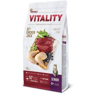 Akinu VITALITY cat senior chicken & duck 1,5 kg