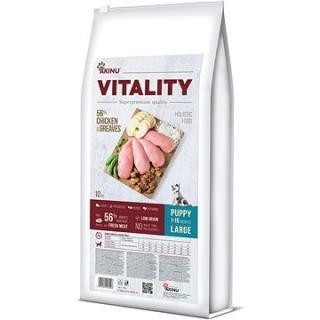 Akinu VITALITY dog puppy large chicken & greaves 12 kg