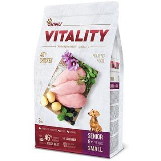Akinu VITALITY dog senior small chicken 3 kg