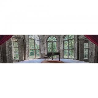 AKRYLOVÝ SKLENĚNÝ OBRAZ, architektura, 50/180/1,70 cm - vícebarevná 50/180/1,70
