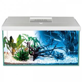 Akvárium aquael leddy led day & night 54l bílé
