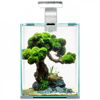 Akvárium aquael shrimp smart day & night 10l bílé