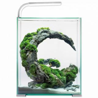 Akvárium aquael shrimp smart day & night 30l bílé