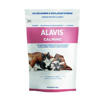 ALAVIS Calming pro psy a kocky 45g