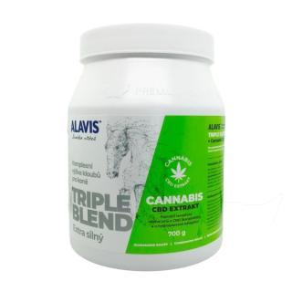Alavis Trible Blend Extra Silný   Cannabis CBD Extrakt 700g
