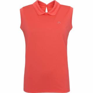 Alberto Lina Dry Comfort Womens Polo Shirt Red L dámské L