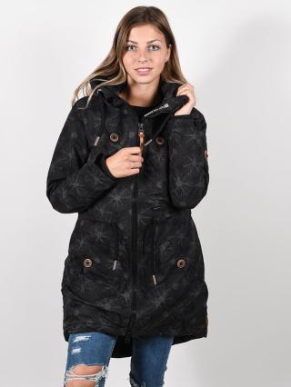 Alife and Kickin CharlotteAK A MOONLESS zimní dámská bunda - černá dámské S