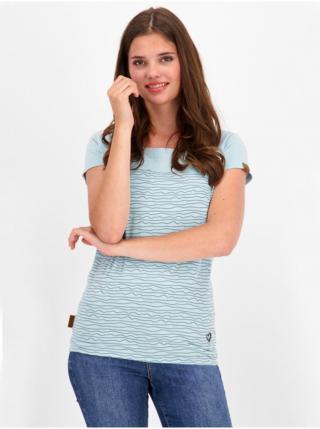 Alife and Kickin ClariceAK ice dámské triko s krátkým rukávem - modrá dámské XS