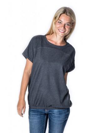 Alife and Kickin DINI MOONLESS dámské triko s krátkým rukávem - šedá M