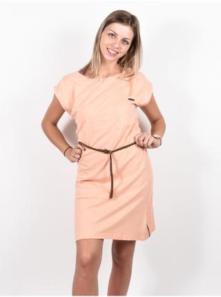Alife and Kickin ELLIAK candy krátké letní šaty - meruňková dámské M