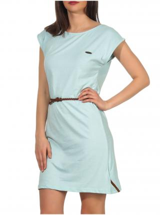 Alife and Kickin ELLIAK ice krátké letní šaty - světle modrá dámské L