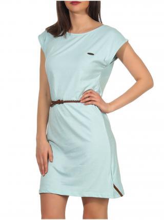 Alife and Kickin ELLIAK ice krátké letní šaty - světle modrá dámské XL