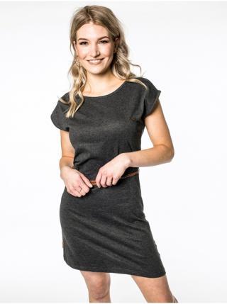 Alife and Kickin ELLIAK MOONLESS krátké letní šaty - černá dámské L