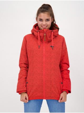 Alife and Kickin LILOUAK FIESTA zimní dámská bunda - červená dámské XS