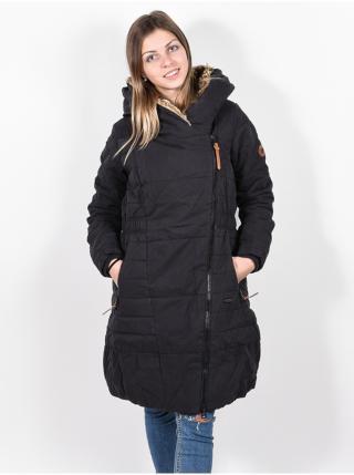 Alife and Kickin Long FriedaAK MOONLESS zimní dámská bunda - černá dámské S