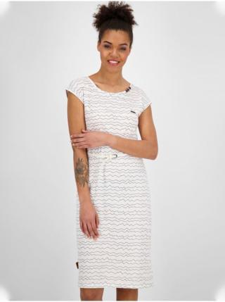 Alife and Kickin MelliAK white krátké letní šaty - bílá dámské XS
