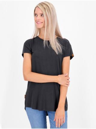 Alife and Kickin MimmyAK A black dámské triko s krátkým rukávem - černá dámské XS