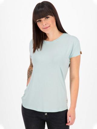 Alife and Kickin MimmyAK A ice dámské triko s krátkým rukávem - modrá dámské XL