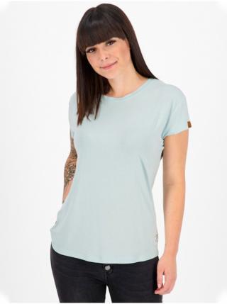 Alife and Kickin MimmyAK A ice dámské triko s krátkým rukávem - modrá dámské XS