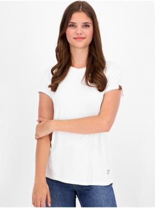 Alife and Kickin MimmyAK A white dámské triko s krátkým rukávem - bílá dámské XS