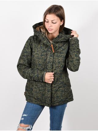 Alife and Kickin NaomiAK STONE zimní dámská bunda - šedá dámské S