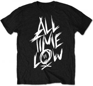 All Time Low Unisex Tee Scratch  Black L L