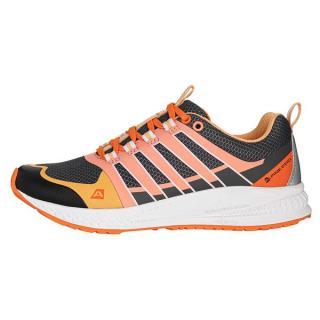 ALPINE PRO Carrola Dámská běžecká obuv s antibakteriální stélkou 37 ORANŽOVÁ