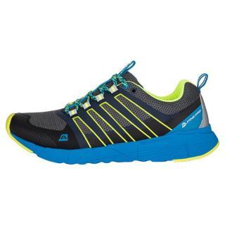 ALPINE PRO Nels Pánská běžecká obuv s antibakteriální stélkou 44 ŽLUTÁ