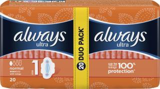 ALWAYS Ultra DUO Normal Plus  – dámské vložky