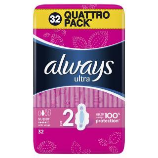ALWAYS Ultra Super Plus  – dámské vložky