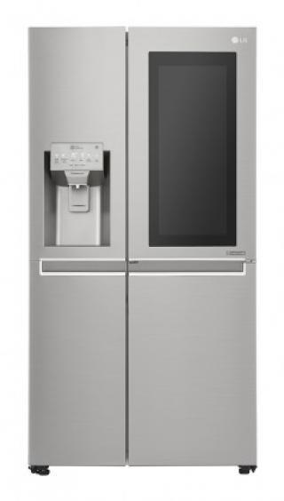 Americká lednice lg gsx961nsaz vada vzhledu, oděrky